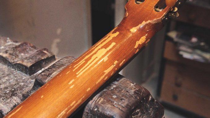 Restaurer sa guitare classique