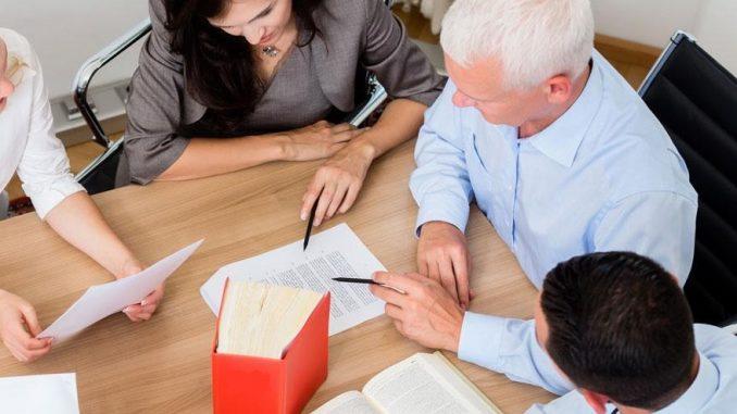 Passage chez un notaire pour l'achat d'un bien immobilier