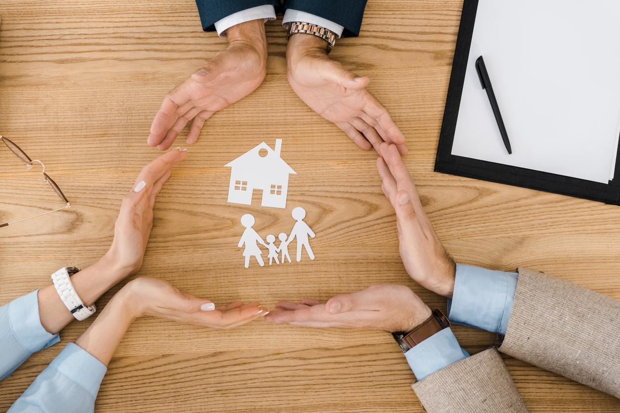 Illustration de l'assurance vie en famille