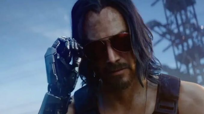 Personnage cyberpunk 2077