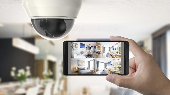 Une vidéo surveillance chez un particulier