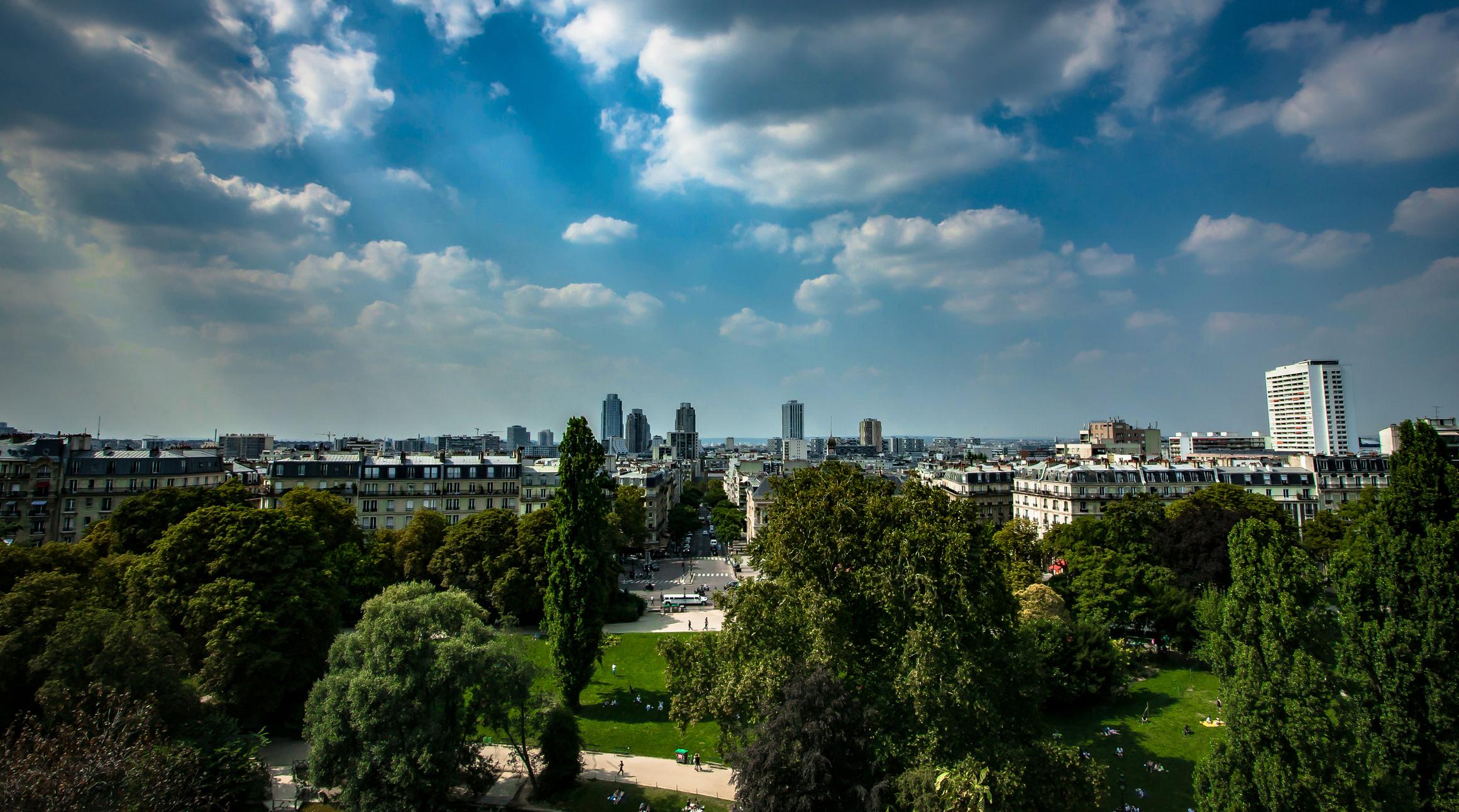 Un bel endroit dans Paris