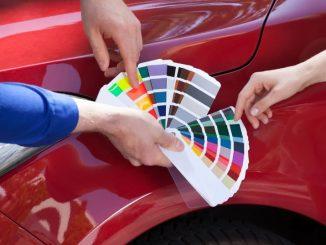 Palettes de couleurs véhicules